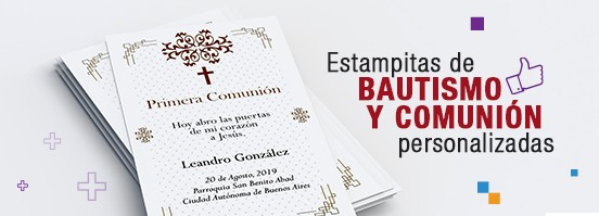 Invitaciones & Estampitas